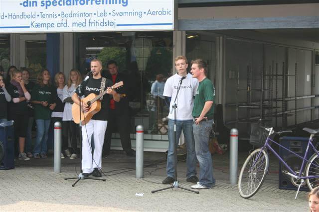 Optræden i Humlebækcenteret 2006