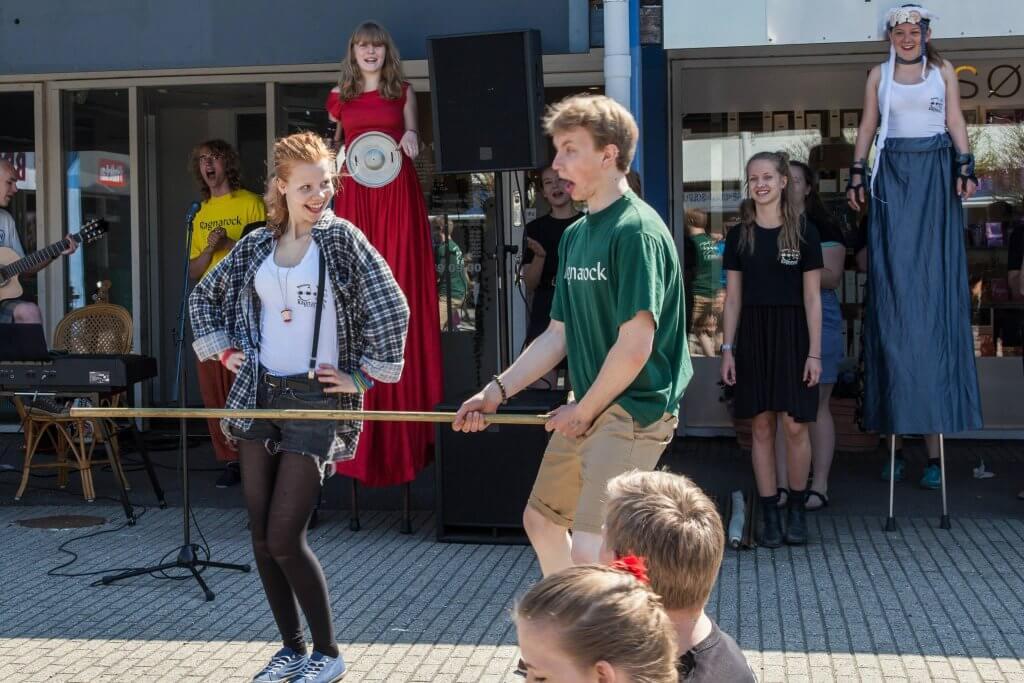 Optræden i Humlebækcenteret 2013